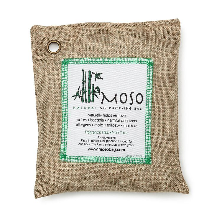 Natural Air Purifying Bag Bamboo Charcoal Air Filter