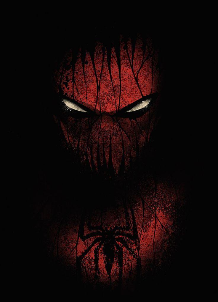 Geek Art – Art, Design & Lightsabers, Spiderman by Dan Burgess, graphic designer from Manchester !