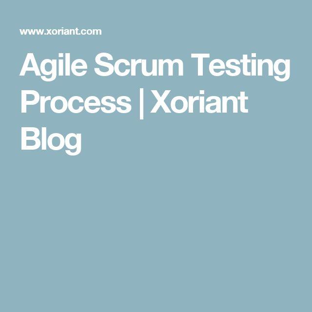 Agile Scrum Testing Process   Xoriant Blog