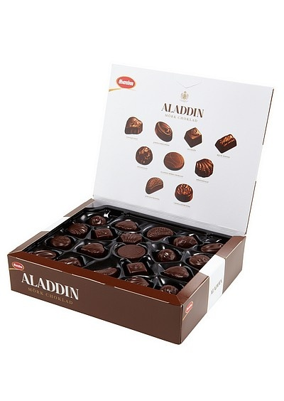 Chocolate candy box Marabou Aladdin
