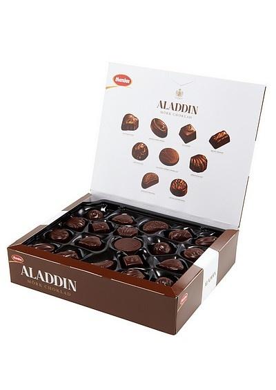 Chocolate candy box Marabou Aladdin
