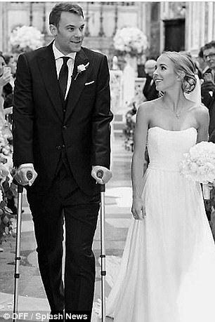 Bayern Munich Goalkeeper Manuel Neuer Walks Down The Aisle With Crutches And Its Everything