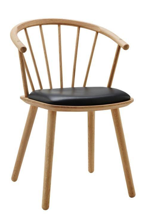 Sleek low back - Læder sæde