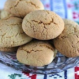 Hanna-tädin pikkuleivät (aunt Hanna's biscuits). Little potato flour biscuits. Finnish Cuisine / Cuisine finlandaise