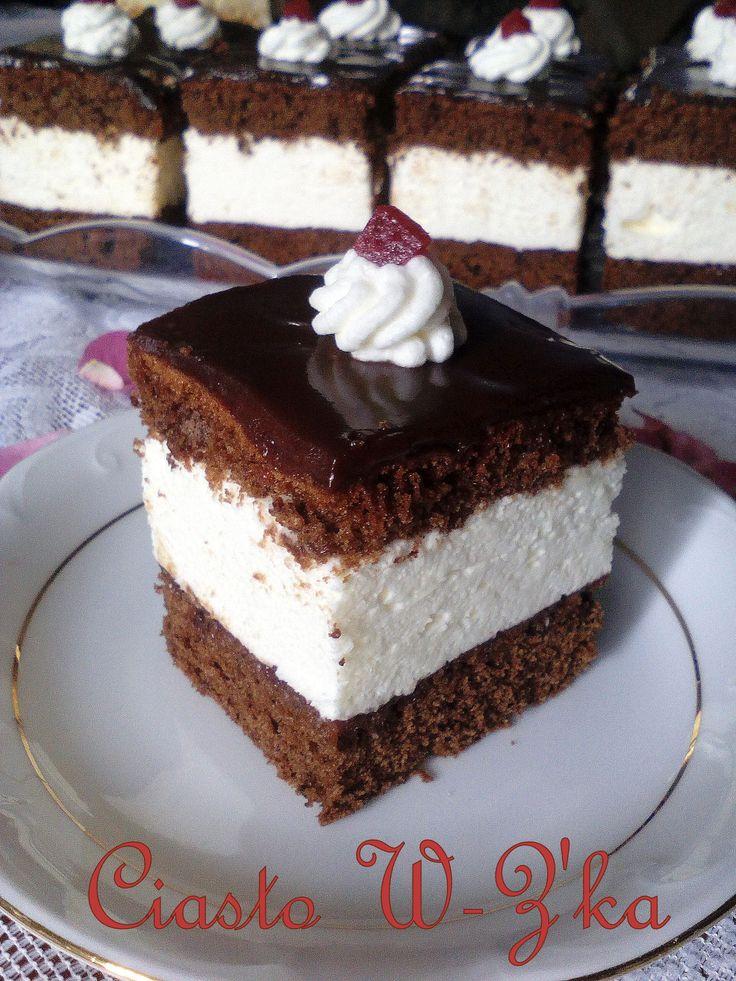 Ciasto W – Z'ka (przepis II) – lekka jak obłoczek PRZEPIS