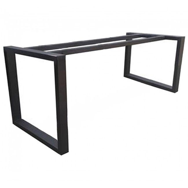 Modern Steel Table Legs Base Frame Apex Steel Table Legs