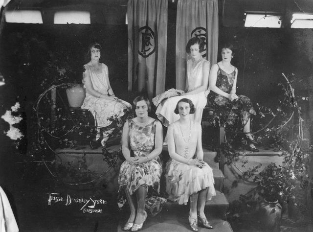 Mannequin parade at Finney Isles & Co., Brisbane, 1929