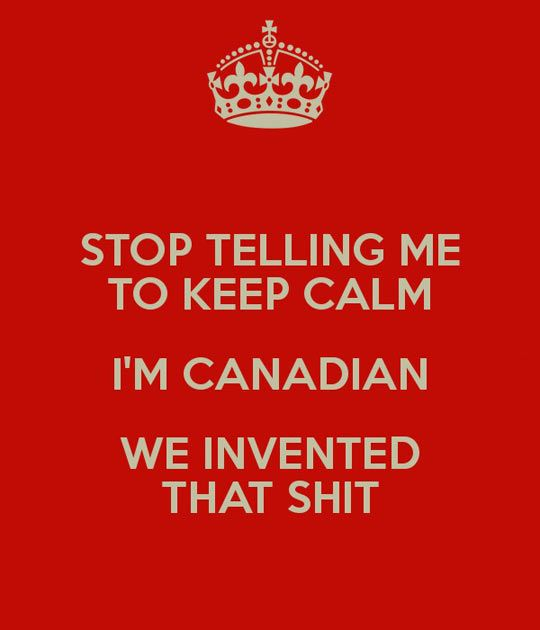 Canadians Invented It