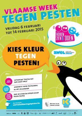 Week tegen Pesten: Affiche 2015