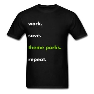 The Price of Theme Parks T-Shirt