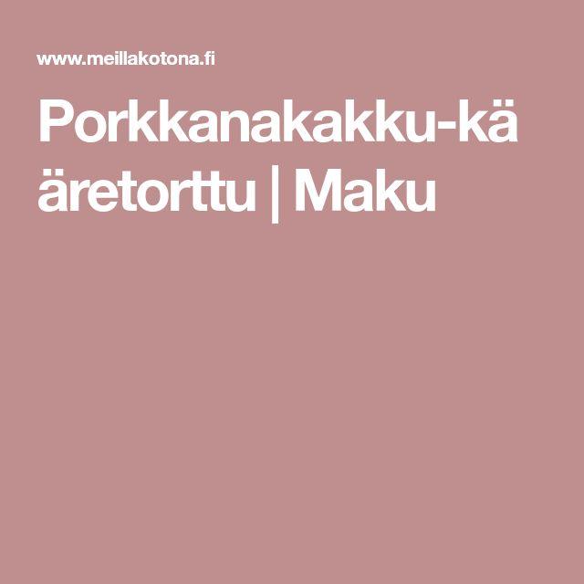 Porkkanakakku-kääretorttu | Maku