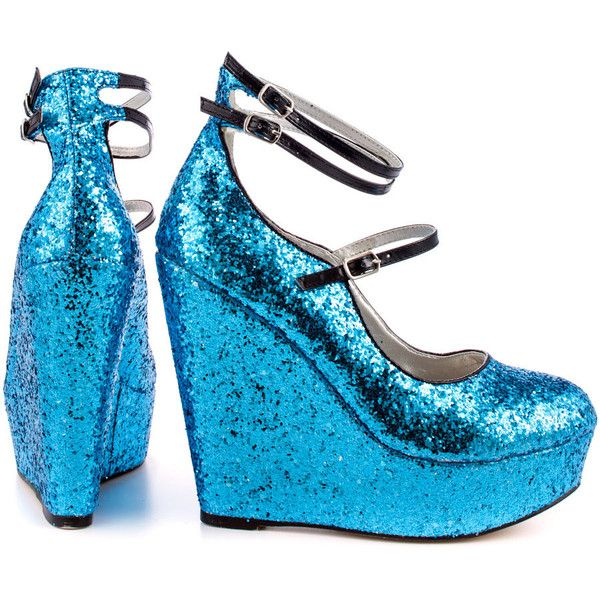1000  ideas about Blue Wedge Shoes on Pinterest | Flats Wedges