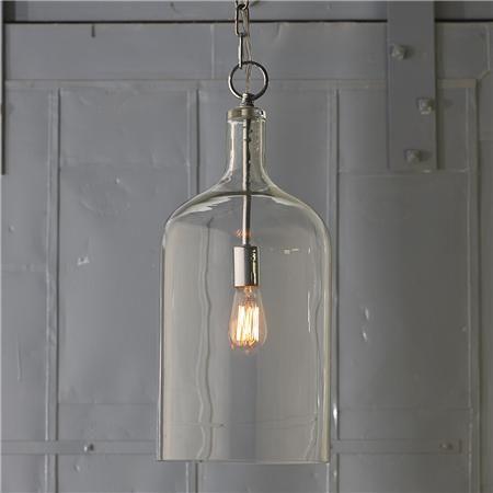 Glass Jug Lantern - Shades of Light