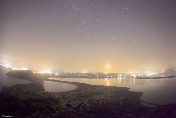 Rise of Crescent Moon, Voidokilia, Messinia - Rise of Crescent Moon, Voidokilia…