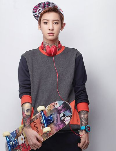 Chanyeol with piercings and tattoos? Ugh...perfect | Room Mate - Love ...