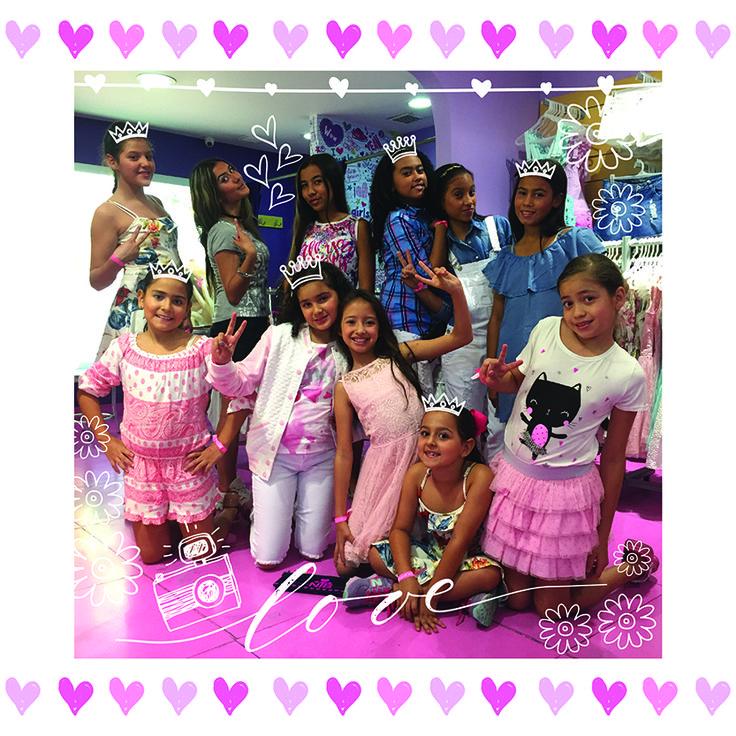 Evento de maquillaje Agosto 11 de 2016 - Centro Comercial Los Molinos - Medellin