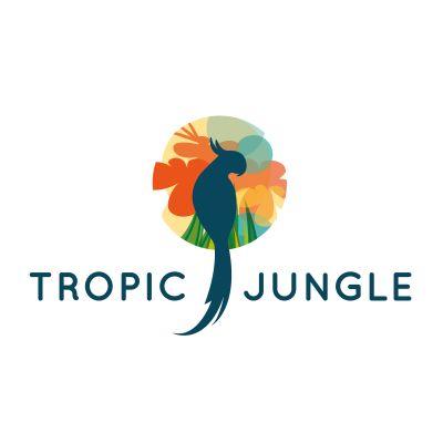 Tropic Jungle | Logo Design Gallery Inspiration | LogoMix