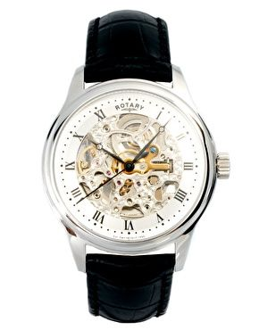On Pinterest Skeleton Watches Next Day And Rotary Mens Watches