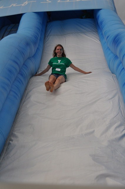 The giant slide at The YMCA Children's Village at Kempenfest