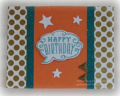 Gina's Little Corner of StampinHeaven: National Paper Crafting Month - Cloud 9