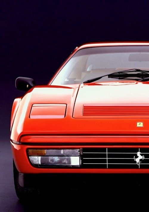 "1985 Ferrari 328 GTB - I don't know how else to say ""80's aesthetic zenith,"" and say it in a kind way, than this."