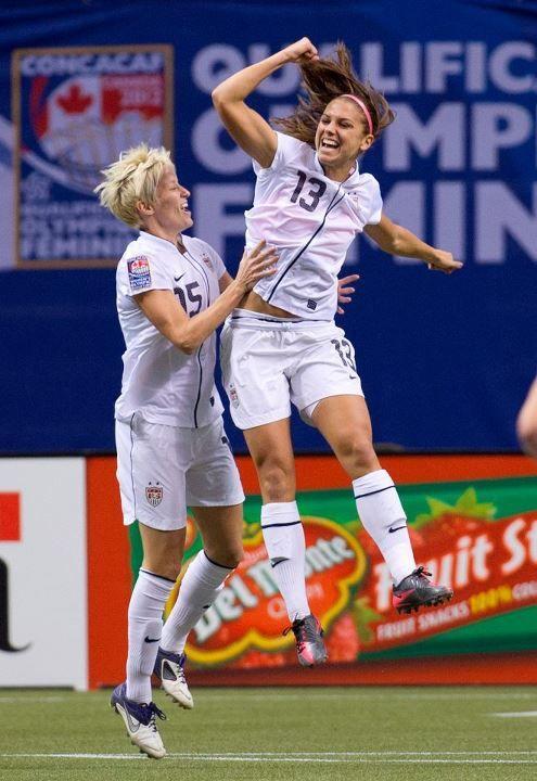 Favorite Women Soccer Players.. Rapinoe and Morgan