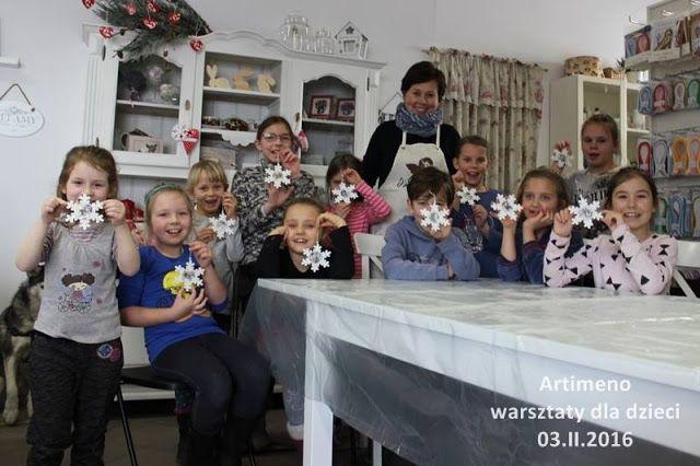 Warsztaty dla dzieci - FERIE ZIMOWE W OTMUCHOWIE