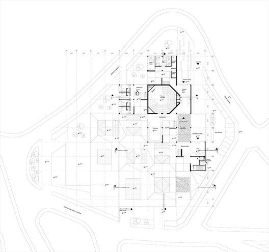 Competition Entry: Istanbul Gülsuyu Cemevi and Cultural Center,Floor Plan 1