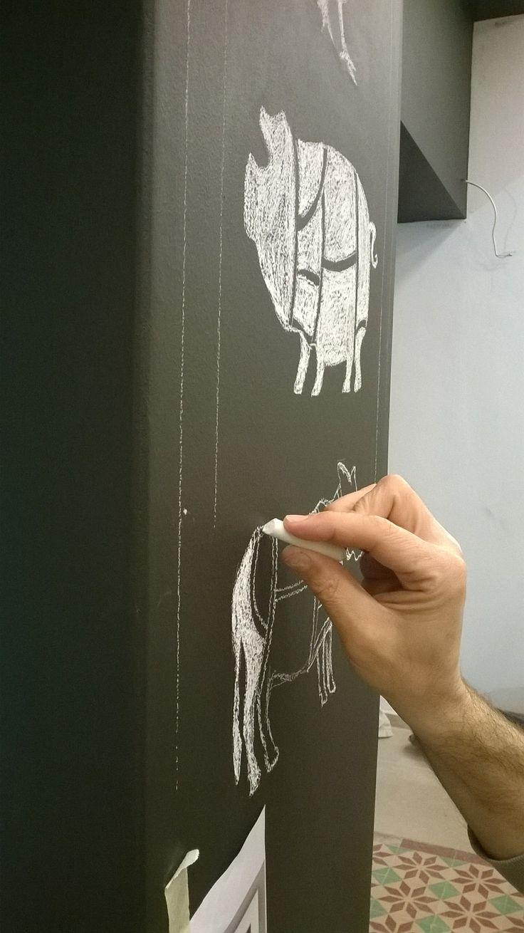 Chalk butchery