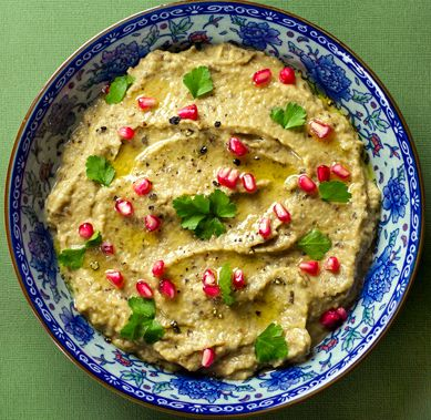 How to make babaganush eggplant dip from scratch