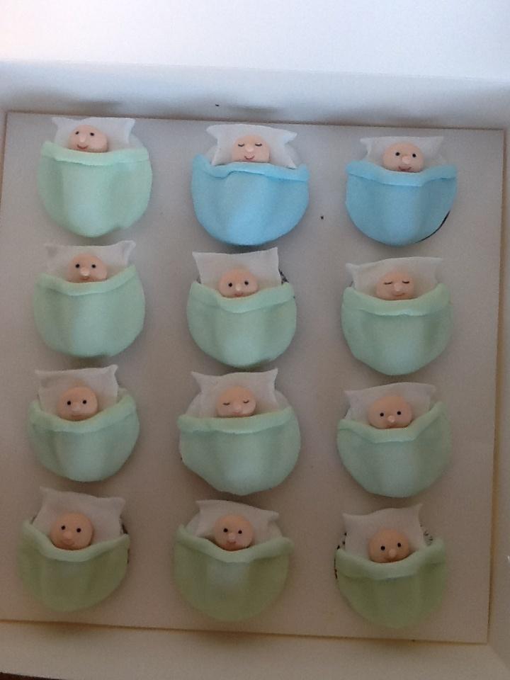 Boy Christening cakes