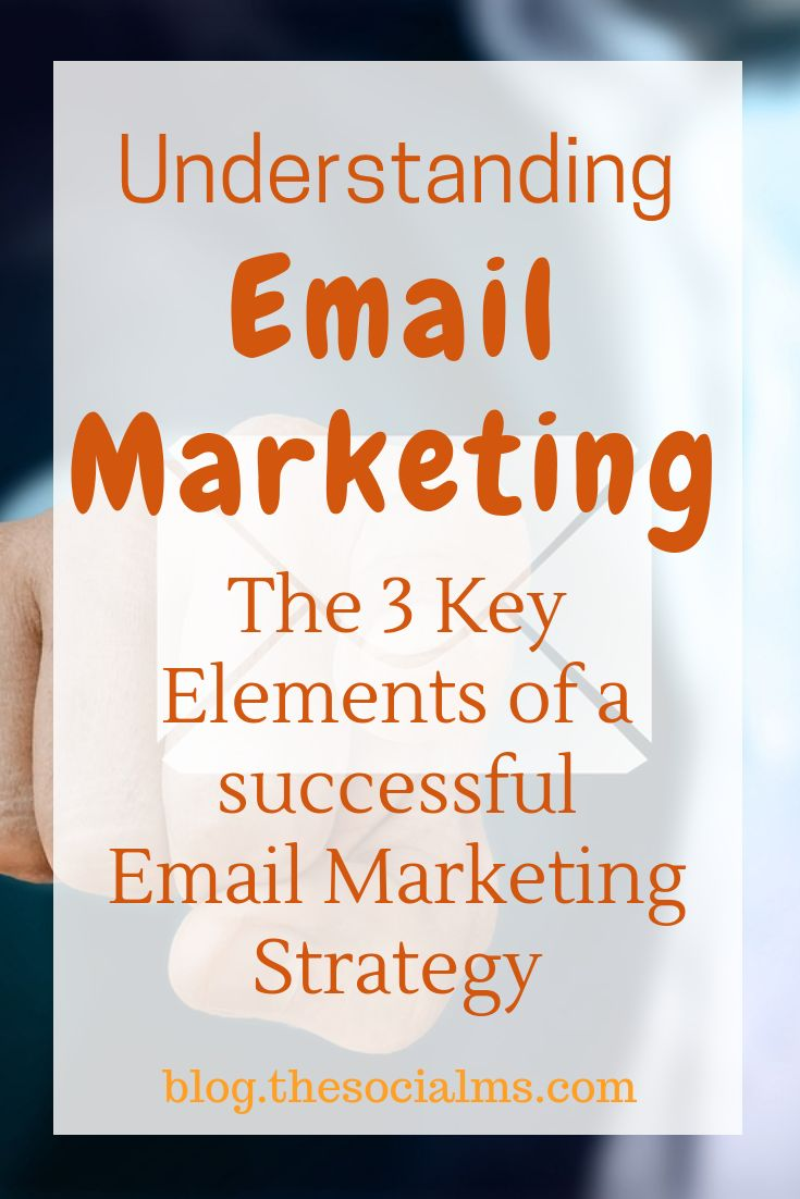 Understanding Email Marketing: The 3 Key Elements of Any Email Marketing Strategy