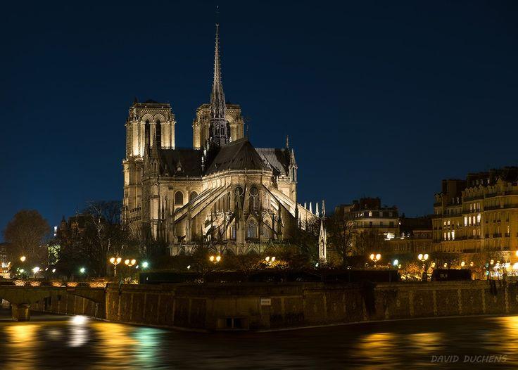 Cathédrale Notre Dame in Paris by David Duchens on 500px