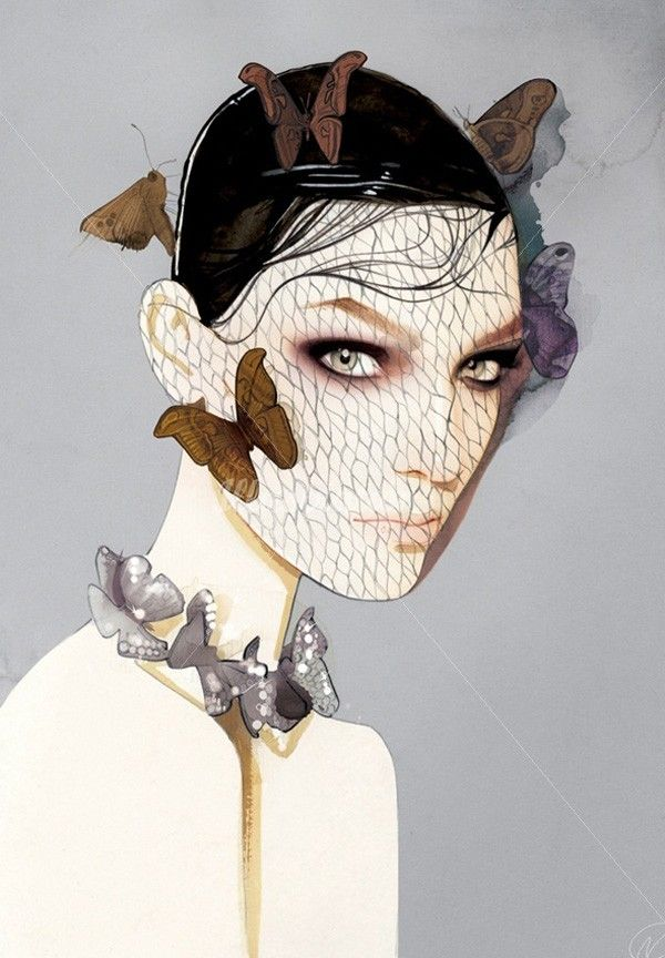 Fashion Illustrations by Nuno Da Costa | Art and Design