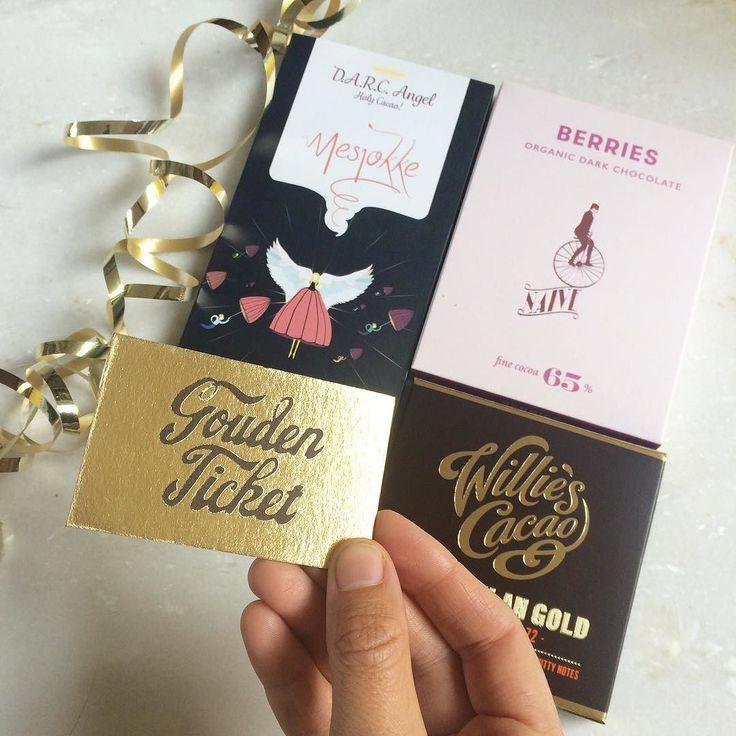 Een cadeaubox samenstellen voor een vader die volgens zijn 2 zoontjes een échte Willie Wonka fan is? No problemo! Uiteraard moest er een 'delectable' reep van naamgenoot @williescacao in met de prachtige gouden letters op de verpakking. Daarnaast heb ik gekozen voor een reep gemaakt in een Nederlandse chocoladefabriek een fabriek die de vader in kwestie kan bezoeken vanuit de luie stoel op het Andere Chocolade blog (zo zien we o.a. 'Oempaloempaland'). En tenslotte de Litouwse koningen van de…