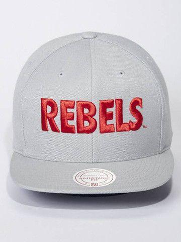 Rebels Snapback (Grey) – LVCK
