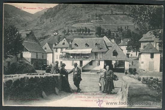 Los Pirineos.Valle de Arán. Bossost (Bosost). Interior del pueblo y puente. 281 Labouche - Foto 1