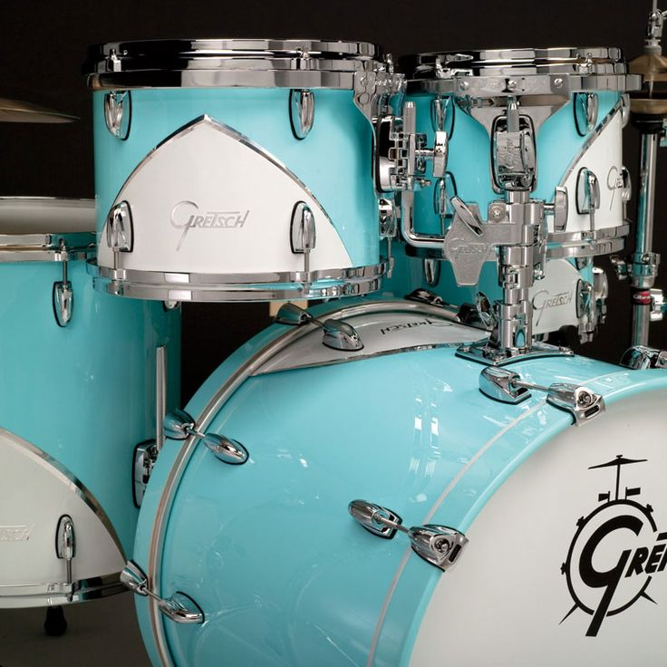Scott's Gretsch Drums Renown 57 Motor City Blue