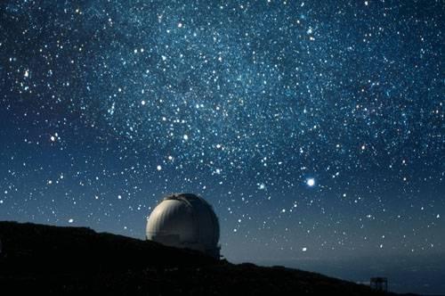Cielo de La Palma,Observatorio del Roque de los Muchachos. Islas Canarias