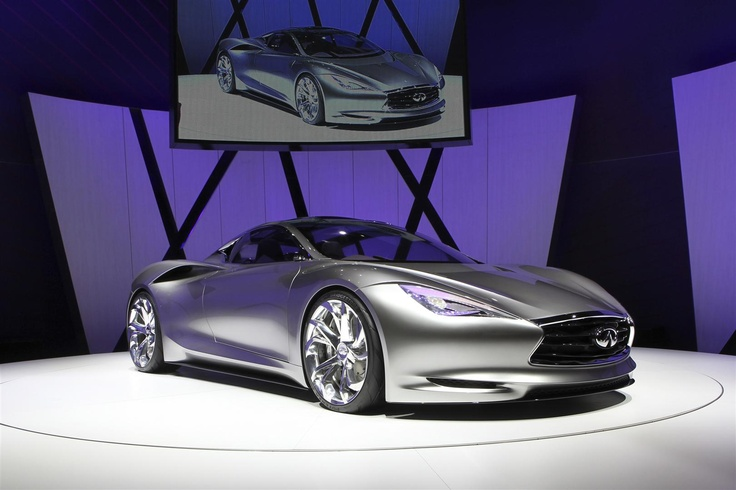 Infiniti EmergE sportscar Sports car, Hybrid sports