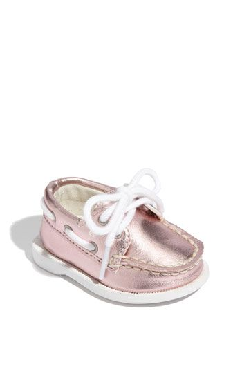 Yes, even a three-month old needs Sperrys.