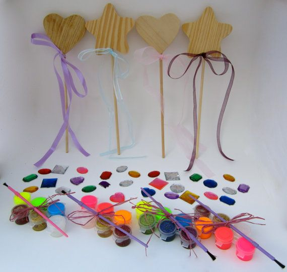 97 best fairy wands and accessories images on pinterest for Princess wand craft kit