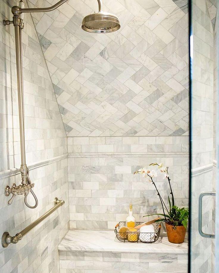 Shower details>> @ashleygilbreathinteriordesign