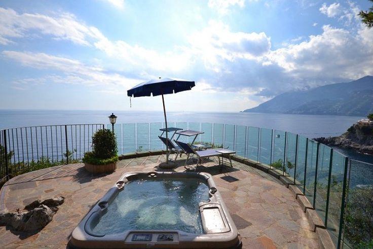 Maiori 1.5 miles for shops, restaurant & beach.   Amalfi (hydrofoil service for Naples-Amalfi Coast-Capri) 5 miles. Positano 11 miles. Sorrento 25 miles. Salerno (train to Naples) 10 miles. Naples and airport 40 miles (hydrofoil transfer from Naples to Sorrento approx 45 mins).   Tennis in Maiori. Golf 16 miles.  Features Sleeps 16/18  VILLA (sleeps 8/9) 4 bedrooms, 4 shower rooms, 5 WCs TOWER (sleeps 8/9) 5 bedrooms, 3 shower rooms, 3 WCs