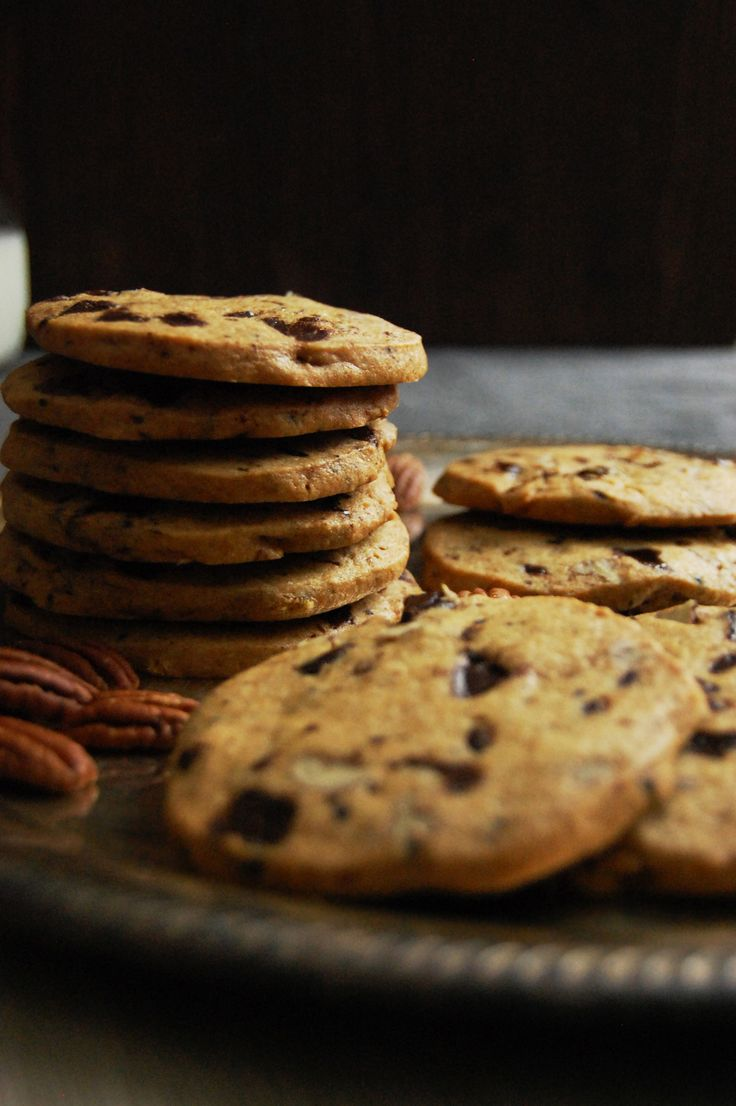 ... and pecan cookies chocolate pecan layered icebox cookies recipe yummly
