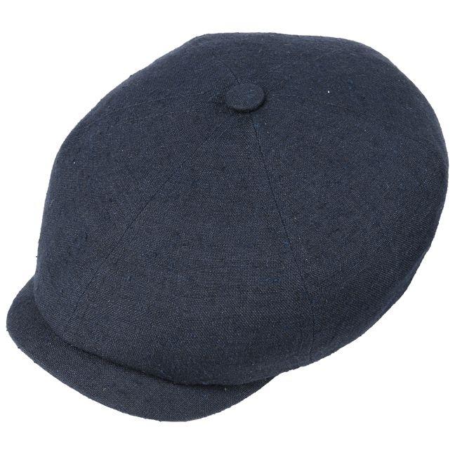 Zomer flat cap voor heren met zijde. 6-Panel Linnen-Zijde Pet by Stetson binnen 1 dag geleverd & 100 dagen ruilen. Thuiswinkel lid & iDEAL-betaling.