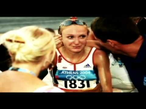 Athens 2004 Marathon. Paula Radcliffe