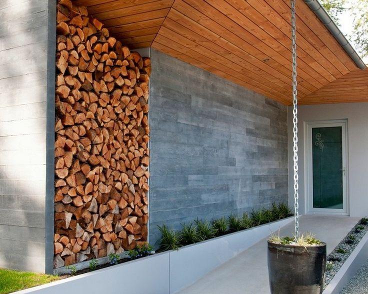 Brennholz lagern ideen wohnzimmer garten  9 besten holz Bilder auf Pinterest | Brennholz, Brennholz lagern ...