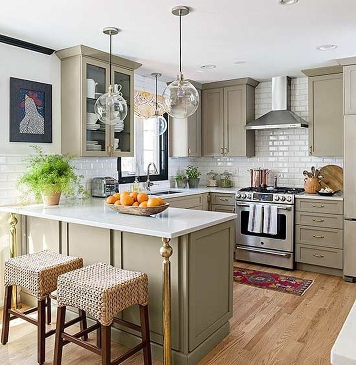 50 Extraordinary U Shaped Kitchen Remodel Ideas   Kitchen ...