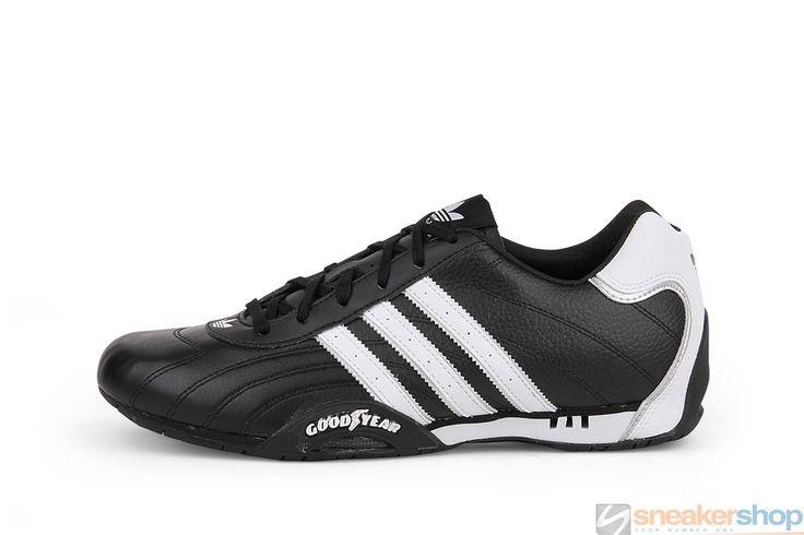 Adidas Adi Racer Low (Black/White/Metallic Silver) | G16082